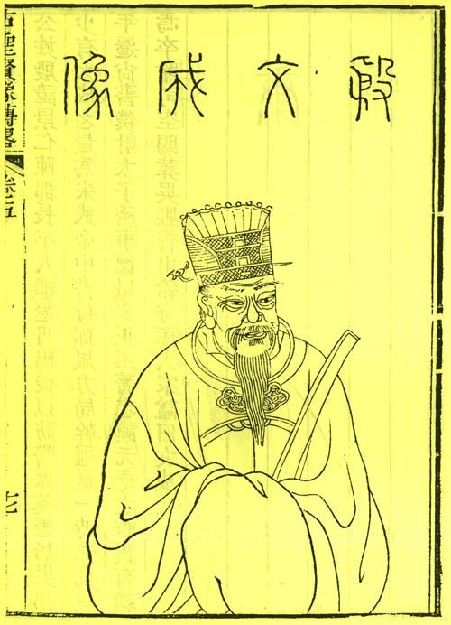 中国历代名人图像细览