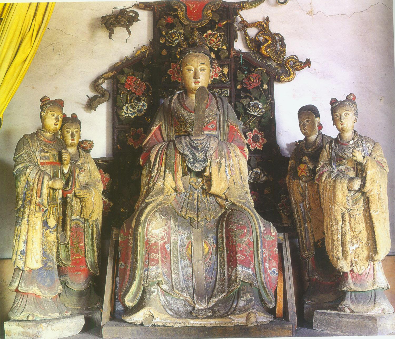 中国寺庙祠观造像数据库细览
